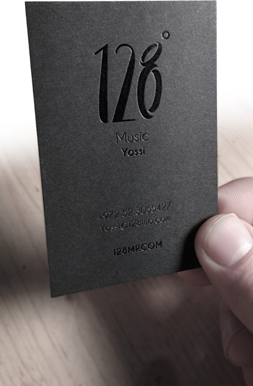 Branding for 128 Productions