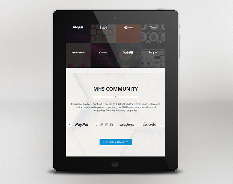 Website Development for MHS Capital