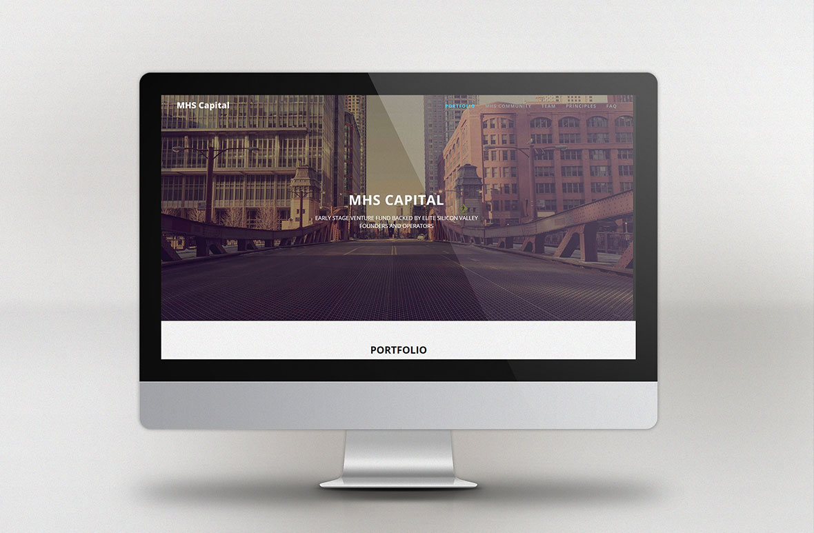 Web Design for MHS Capital